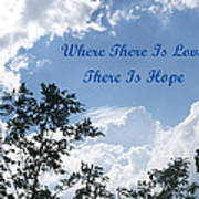 Hope Poster by Aimee L Maher Photography and Art Visit ALMGallerydotcom