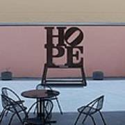 Hope And Chairs Poster