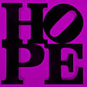Hope In Purple Poster