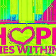 Hope Lies Within Poster