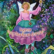 Hope Lights The Darkest Forest Poster