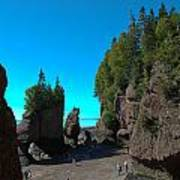 Hopewell Rocks2 Poster