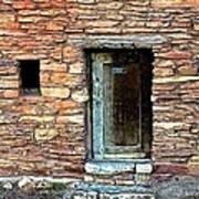 Hopi House Back Entrance Poster