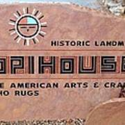 Hopihouse Sign Poster