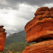 Hoping For Rain - Garden Of The Gods Colorado Poster