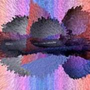 Horizontal Reflection Poster
