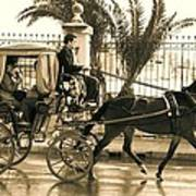 Horse Drawn Carriage Ride Poster