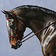Horse Painting - Discipline Poster