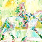 Horse Painting.19 Poster