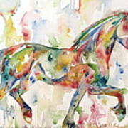 Horse Painting.23 Poster