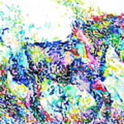 Horse Painting.33 Poster