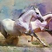 Horse Paintings 004 Poster