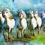 Horse Paintings 005 Poster