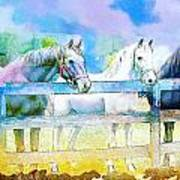 Horse Paintings 008 Poster by Catf