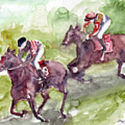 Horse Racing Poster