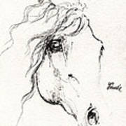 Horse Sketch 2014 05 24a Poster