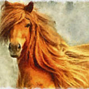 Horse Two Poster