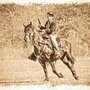Horseback Soldier Poster