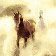 Horses Of The Mist Poster