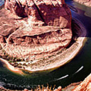 Horseshoe Bend Boat Race - Page Arizona Poster