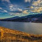 Horsetooth Reservoir Late Afternoon Poster