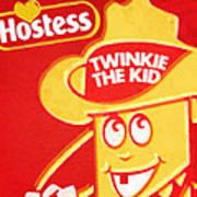 Hostess Twinkie The Kid Poster by Tony Rubino