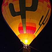 Hot Air Above Arizona Poster
