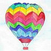 Hot Air Balloon 02 Poster
