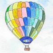 Hot Air Balloon 08 Poster
