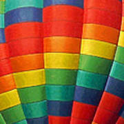 Hot Air Balloon Painterly Poster