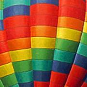 Hot Air Balloon Painterly Poster