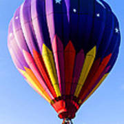 Hot Air Ballooning In Vermont Poster