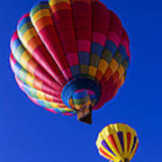 Hot Air Ballooning Together Poster