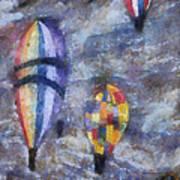 Hot Air Balloons Photo Art 02 Poster
