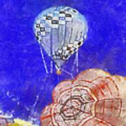 Hot Air Balloons Photo Art 04 Poster