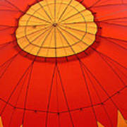 Hot Air Balloon At Dawn Poster