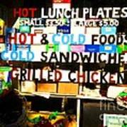 Hot And Cold Foods Poster