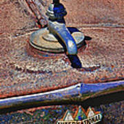 Hot Faucet Hood Ornament Poster by Garry Gay