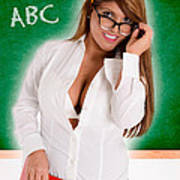 Hot For Teacher Poster
