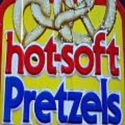 Hot Pretzels Poster by Skip Willits