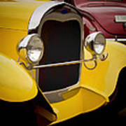 Hot Rod Fords Poster