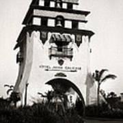 Hotel Agua Caliente Mexico Poster