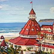 Hotel Del Coronado From Above Poster