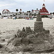 Hotel Del Coronado In Coronado California 5d24264 Poster by Wingsdomain Art and Photography
