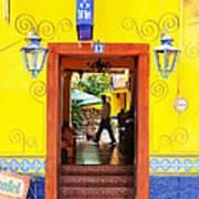 Hotel Estancia - Ajijic - Mexico Poster