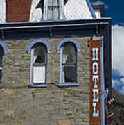 Hotel In Silverton Poster