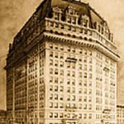 Hotel Pontchartrain Detroit 1910 Poster by Mountain Dreams