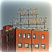 Hotel St. James Poster