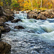 Housatonic River Autumn Poster
