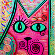 House Of Cats Series - Catty Poster by Moon Stumpp